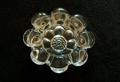Dartington Glass crystal Frank Thrower Daisy paperweight VINTAGE RETRO