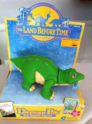LAND BEFORE TIME Equity Toys Dinosaur Pals SPIKE Fun Poseable Figure 1996 NEW