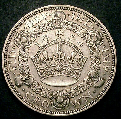 1934 Crown  -  Only 932 minted