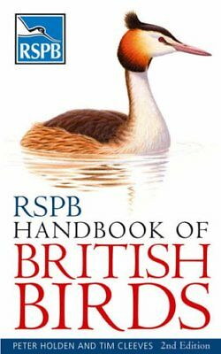 RSPB Handbook of British Birds by Cleeves, Tim Paperback Book The Cheap Fast