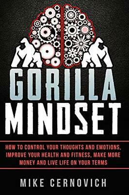 Gorilla Mindset by Cernovich, Mike Book The Cheap Fast Free Post