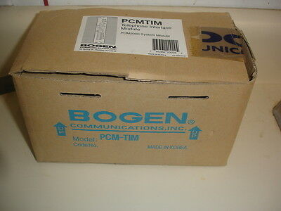 BOGEN PCMTIM Telephone Interface Module for PCM2000 System
