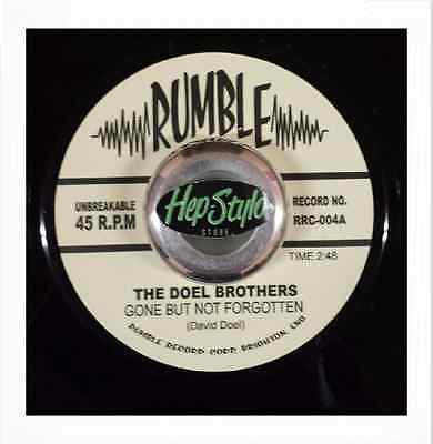 The Doel Brothers 45 - Rumble Hot Modern Rockabilly Club Hit Listen!!