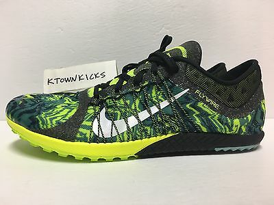 Nike Zoom Victory Waffle 3 Running Shoes Green Volt 654692 007 Men's Size 10