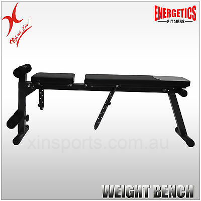 Display - Energetics Home Gym - 7 Levels Adjustable Weight Bench  - Sit Up Bench