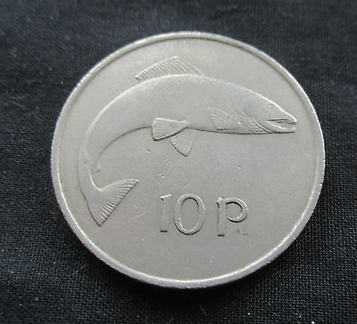 10 Pence Ireland 1969, Fish #4251