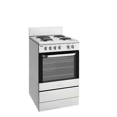 Chef 54cm CFE536SA Stainless steel Freestanding Electric Cooker fan forced oven