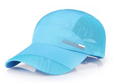 Sports Breathable Mesh Running Hats - 3 Different Colours