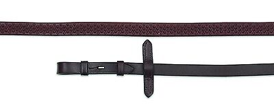 "Shires Aviemore Soft Grip Rubber Reins Black 54"" x 5/8"""