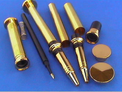 Woodturning Pen Kits - PANACHE - available in Gold/Chrome/Gun Metal/or Bushes