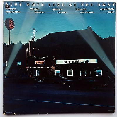 Various Artists - Blue Note Live at the Roxy. Double Vinyl LP. 1976