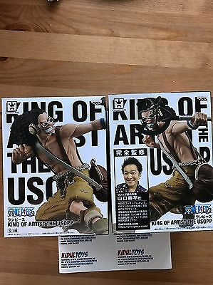 "Banpresto One Piece KING OF ARTIST THE USOPP Figure ""NEW"" SALES"