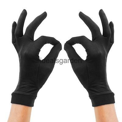 100% Thin Pure Silk Liner Inner Gloves Thermal Mitts for Ski Cycling Motorcycle