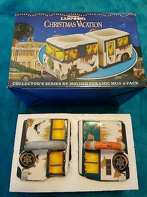 NEW National Lampoon's Christmas Vacation Molded RV Mug 2-Pack GREAT GIFT IDEA!!