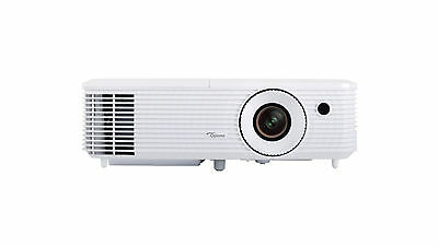 Optoma HD27 1080p 3D Portable Projector 3200 ANSI Lumens Built In Speaker -WHITE