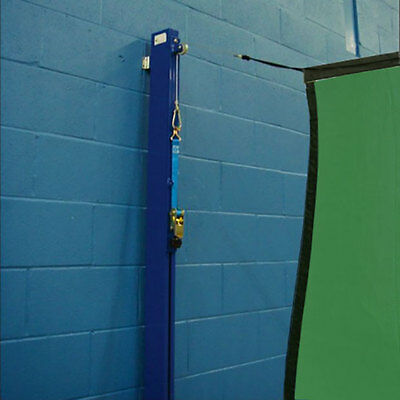 Wall Mounted Archery Net System – Choose Your Size & Colour [Net World Sports]
