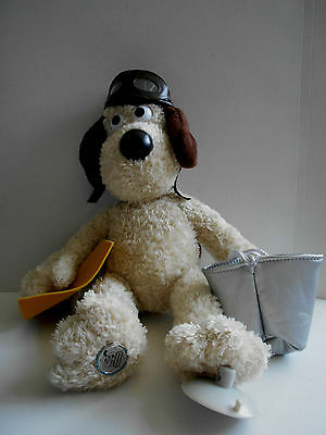 PILOT GROMIT rare window cling soft toy plush WALLACE & GROMIT Rainbow Designs
