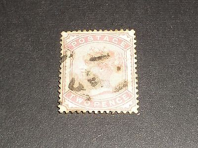 1880-81 GB Stamps QV Queen Victoria 2d TWO PENCE PALE ROSE SG168 FINE USED