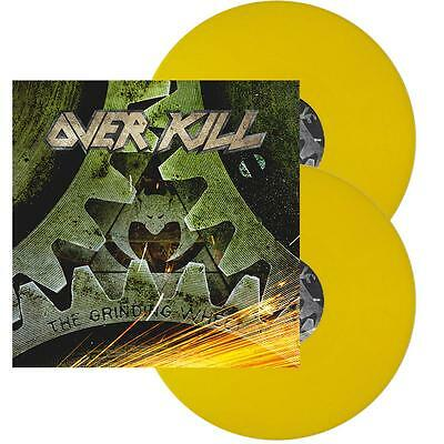 Overkill – The Grinding Wheel [LIMITED EDITION 2LP YELLOW VINYL]