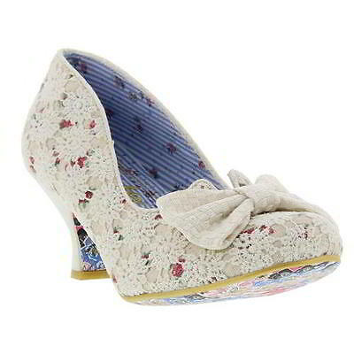 Irregular Choice Dazzles 2nd Razzles Womens Wedding Party Shoes Heels Size 4-8