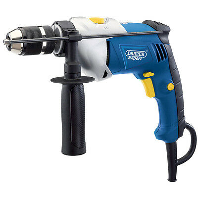 Draper Expert 710W Variable Speed Electric Hammer Action Power Drill With Case
