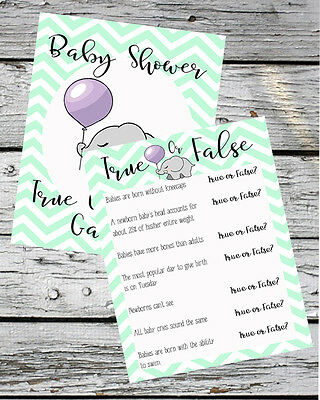 Baby Shower Games Baby Trivia Ice Breaker Fun Facts And General Knowledge