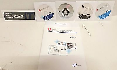 NEW XEROX 550 / 560 Integrated FIERY Network Controller  ~ 301N60870 Media Pack