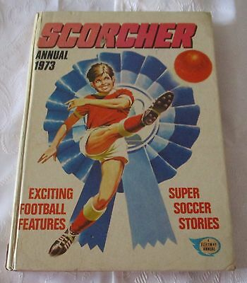 Scorcher Annual 1973  - Price  Clipped