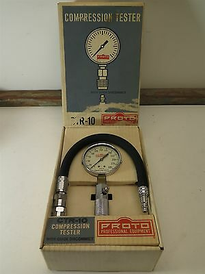 VTG Proto Professional Tool CTR-10 Compression Tester & Quick Disconnect Hose