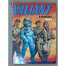 Valiant Vintage Annual 1964  Excellent Condition Not Price Clipped