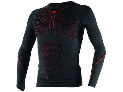 Funktionsunterwäsche Dainese D-Core THERMO TEE LS Gr:L sw/rot Langarmshirt