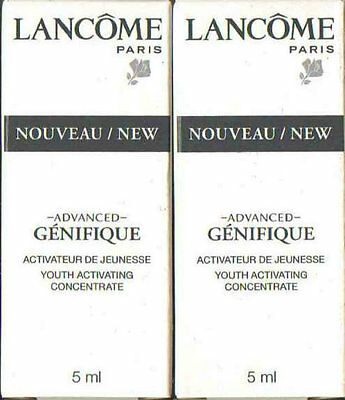 LANCOME ADVANCED GENIFIQUE YOUTH ACTIVATING CONCENTRATE 2 x 5ml - 10ml BNIB