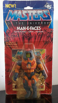 Motu Man FAces MOSC New  He Man Masters Of The Universe