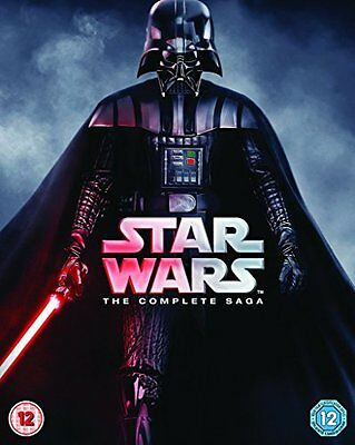 Star Wars: The Complete Saga (9 Blu-Ray) [Edizione: Regno Unito] Blu-ray