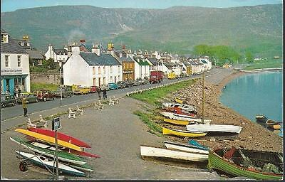 Ullapool, Ross & Cromarty, Highland - lovely NPO Dexter postcard, local pmk 1973