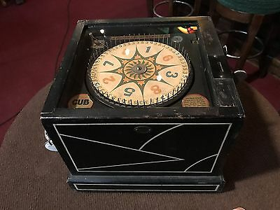 "1933 BALLY ""CUB"" 1 Cent Trade Stimulator ""Watch Video"""