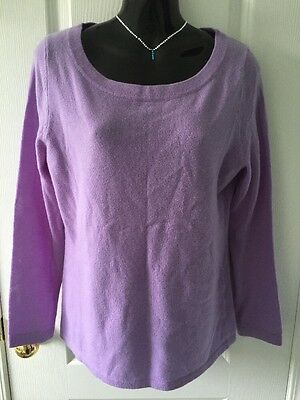 NWT Talbots Women's Pure Cashmere Sweater Size M