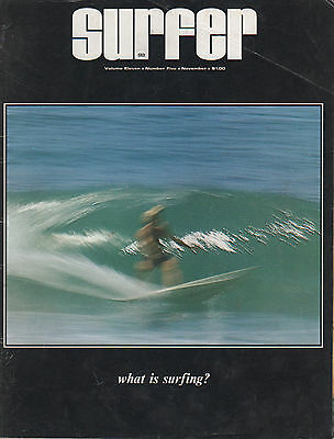 RARE • 1970 SURFER • Vol 11 # 5 ROLF AURNESS Surfboards MURPHY RICK GRIFFIN