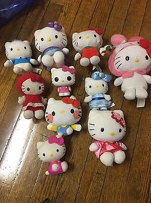 Large Sanrio Hello Kitty Lot