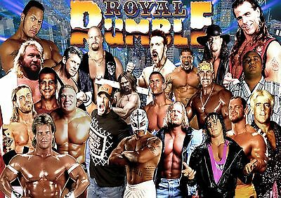 WWE - A4 Glossy Poster - Sports TV Film Movie Free Shipping #568