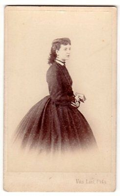 CDV Lady by Van Lint of Pisa Italy Noblewoman ? famous quality image