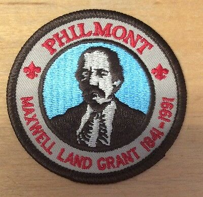Boy Scouts Philmont Maxwell Land Grant 1841-1991  Patch  New