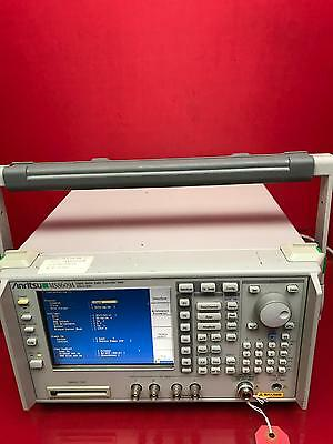 ANRITSU MS8609A Digital Mobile Radio Transmitter Tester, 9 kHz to 13.2 GHz
