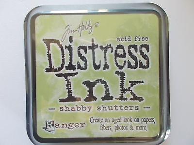 Tim Holtz Distress Ink Pad By Ranger - Shabby Shutters