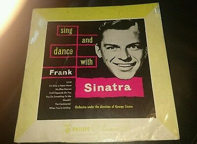 FRANK SINATRA 10'' LP Sing And Dance With Frank Sinatra GB Mono
