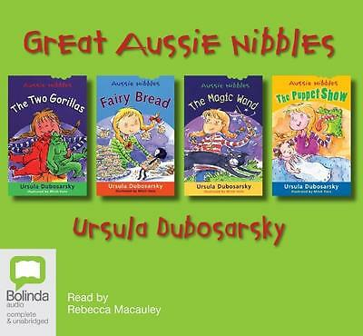 NEW Great Aussie Nibbles Collection By Rebecca Macauley Audio CD Free Shipping