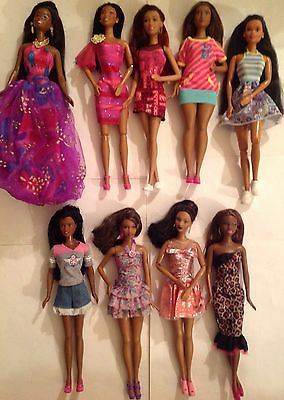 Barbie Doll -African American Lot- So In Style, Celebrity, Fashionista Dressed!