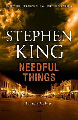 NEW Needful Things By Stephen King Paperback Free Shipping