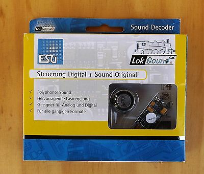 ESU 54400 LokSound V4.0 8-pin incl. Programming and Postage