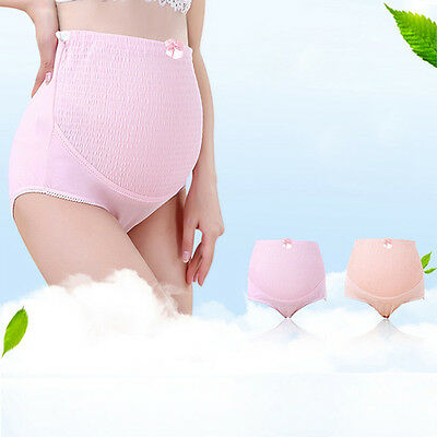 Maternity Women Panties Cotton Pregnant Women High Waist Briefs Underwear Plus